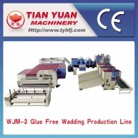 WJ-2 типа пластик хлопка производственная линия (дизельное топливо, природный газ отопление)