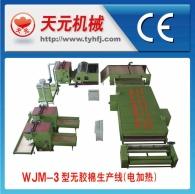WJ-3 производства типа пластик хлопок линии (электрический нагрев горячей циркуляции воздуха)