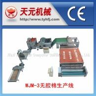 WJ-3 производства типа пластик хлопок линия (электрическое отопление без горячей циркуляции воздуха)